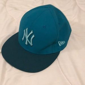 NY New York Yankees 59Fifty Hat. Size 7 5/8